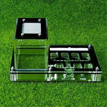Acrylic Ant Nest Ants Farm Housing Insect Cage Feeder Villa Small Pet Cages Keep Moisture Castle