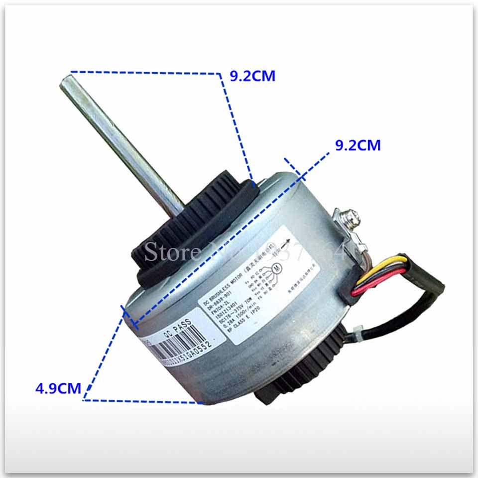 100% new for Gree air conditioner motor FN70A -ZL 70W DC motor good working обогреватель gree ndyt 16a