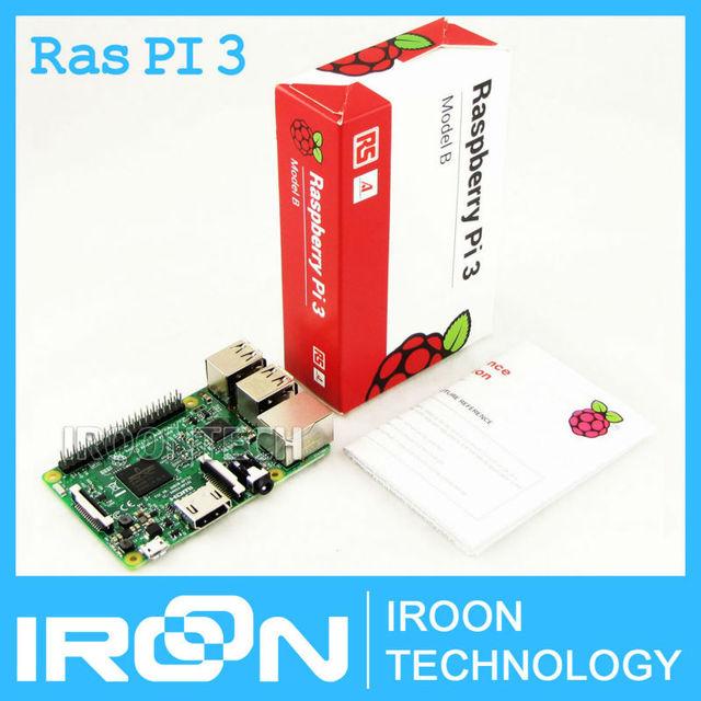 RS версия (сделано в Великобритании): оригинальный Raspberry Pi 3 модели B 1 ГБ LPDDR2 BCM2837 Quad-Core Ras PI3 B, PI 3B с Wi-Fi и Bluetooth