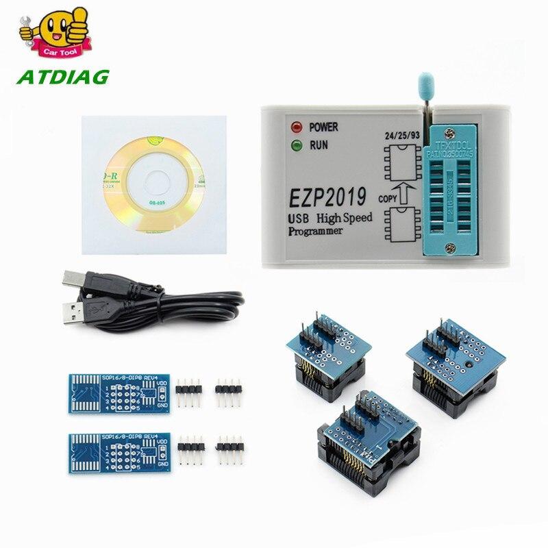 Test Base EZP2019 USB SPI Programmer Support 24 25 93 EEPROM Flash Bios CJ