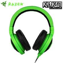 High Quality Original Razer Kraken Pro Gamer Headphone Analog Music Surround Sound Gaming Headset 3.5mm Green Black