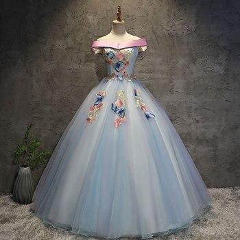 1cc3b9389 Ruthshen verde menta Quinceañera vestidos de novia con cuentas volantes dulce  16 trajes de disfraces barato Debutante vestido de baile de graduación
