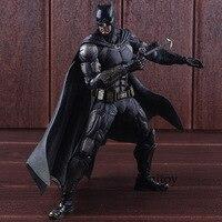 DC Comics Justice League № 1 Бэтмен Тактический Костюм Ver. ПВХ играть искусство Кай Бэтмен фигурки героев игрушечные лошадки Коллекционная модель игру