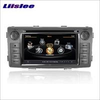 Liislee For Toyota Hilux Vigo 2012~2015 Car Multimedia System Radio Stereo CD DVD TV GPS Map Nav Navi Navigation HD Touch Screen