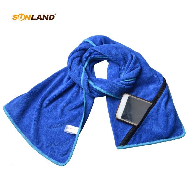 Sunland mikroszálas gyorsan száradó fitnesz edzőteremben sport - Lakástextil