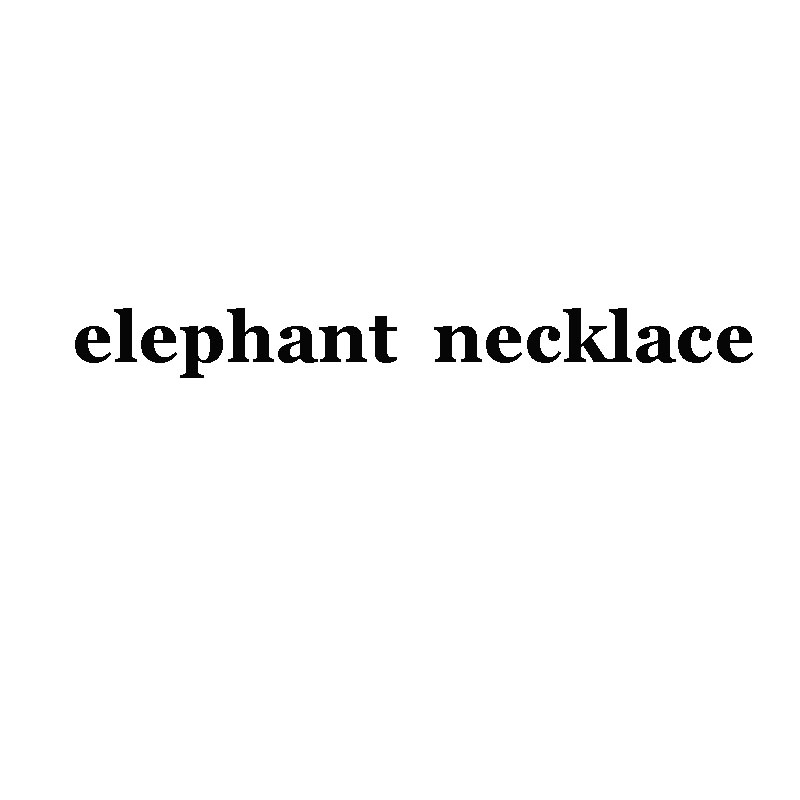 hzew Lucky Elephant Necklace Gold Color Pendant Necklace Link Chains For Women Jewelry(has car) Christmas Gift
