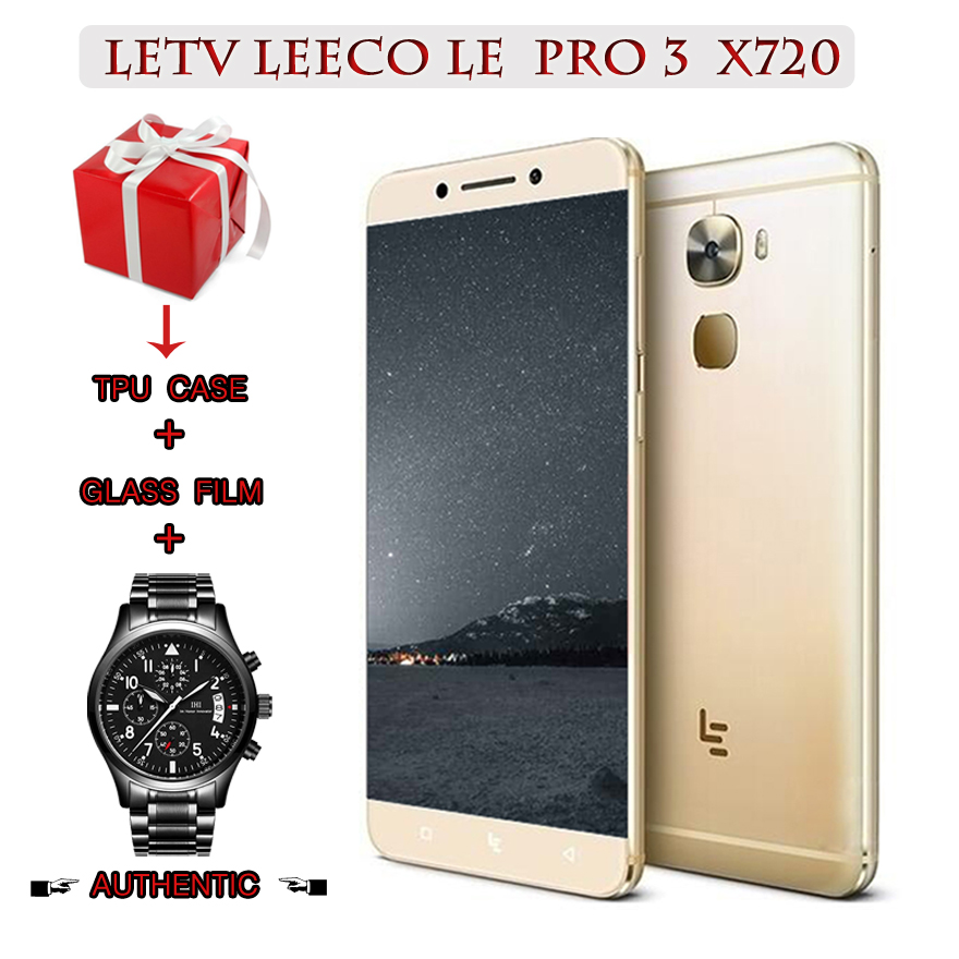 "Letv Le 3 Pro Leeco Le Pro 3x720 Enkele Sim-kaart Snapdragon 821 5.5 ""4g Lte Mobiele Telefoon 4g 32g Rom 4070 Mah Nfc"