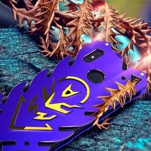 Image 5 - Xiao mi mi 8 etui Alu mi num métal pare chocs antichoc coque de téléphone on pour Funda Xio mi 8 se mi 8 étui armure housse de Protection homme