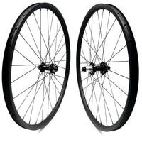 27.5er tubeless 27x25mm 650b disc mtb wheels bicycle carbon wheels bicycle rim UD matte 100x15mm 148x12mm Disc Brake M42/M82