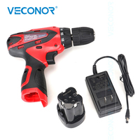 16.8V 36N.m Mini Cordless Drill Machine Wireless Screwdriver Drill Kit Rechargeable Rotary Impact Drill Electric Hand Power Tool