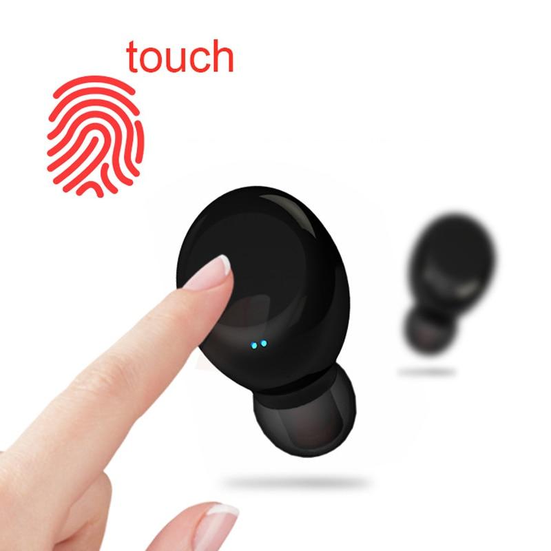 Nouveau TWS sans fil Bluetooth 4.2 étanche casque écouteur avec chargeur boîte basse mis à niveau pour Android IOS téléphone YZ118 - 4