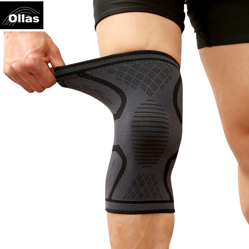 1PC Fitness Running Cycling Knee Support Braces Elastic Nylon Sports safety Compression Knee Pad Sleeve Basketball Volleyball цена