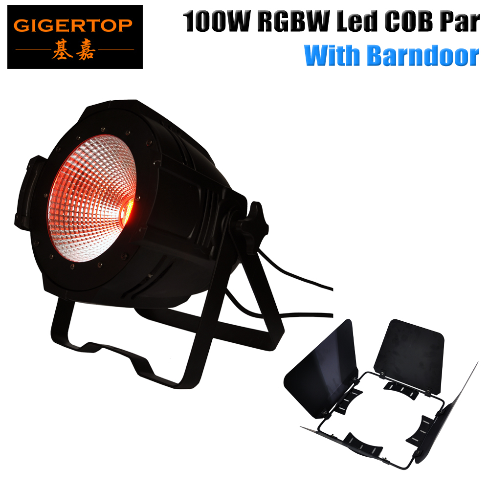 TIPTOP TP-P55B  American COB Cannon Wash RGBA/RGBW COB LED Par Light Barndoor Professional Stage Lighting Background Projector