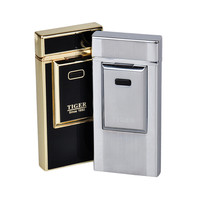Tiger Brand USB Rechargeable Electric Lighters High End Arc Electronic Lighters Windproof