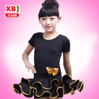 Children Dance Latin Dance Set 2015 New Summer Letizia Beibei Costumes Wholesale Manufacturers