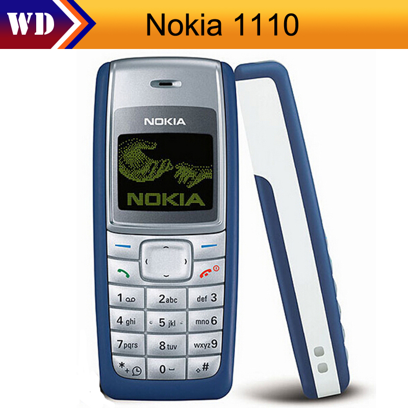 Nokia Original Nokia 1110 1110i Unlocked GSM 2G Refurbished Cheap Cellphone