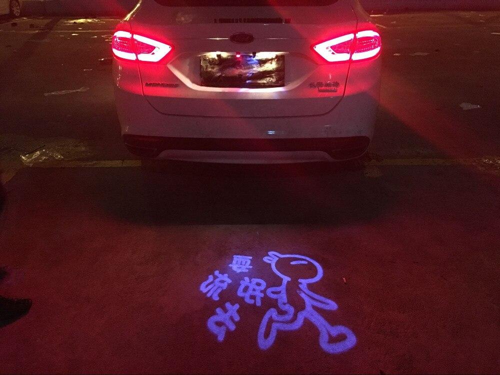Auto Laser Schwanz Logo Led Licht Anti Kollision Rückleuchten Nebel Auto Brems Parkplatz Lampe Aufzucht Warnung Licht für VW Honda hyundai