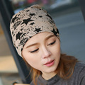2016 New Winter Hat for Men and Women Plain Beanies Knitted Turban Sleep Cap Brand Cotton Male Wholesale Hats 56 Cm To 60 Cm L28