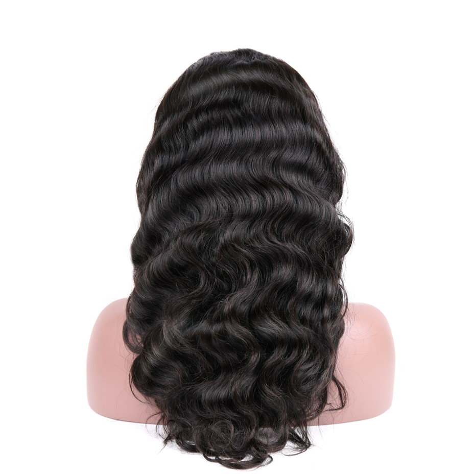 MS Lula Brazilian Body Wave Full Lace Wigs Human Hair With Baby Hair 130% Density 100% Remy Human Hair Free Shipping