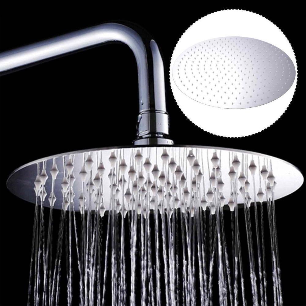 19.6 inch Round Rainfall Shower Head Stainless Steel Shower head Chrome Finish Top Rain Head Shower Faucet Head BA7078