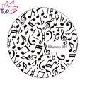 6 дизайн ногтей изображение штамповки плиты штамп DIY советы для шаблоны трафарет маникюрные инструменты JH235