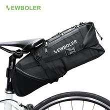 Wholesale NEWBOLER Bike Bag Bicycle Saddle Bag Pannier Cycle Cycling mtb Seat Bag 8 10L Commute