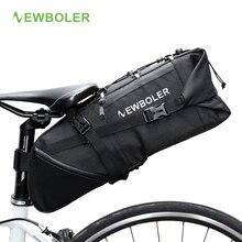 Wholesale NEWBOLER Bike Bag Bicycle Saddle Bag Pannier Cycle Cycling mtb Seat Bag 8-10L Commute Backpack Waterproof No Lip