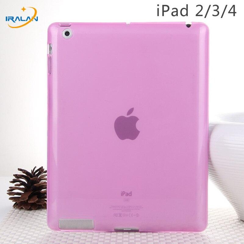 Новый Мягкий Силиконовый ТПУ чехол для Apple iPad 2/3/4 ультра тонкий прозрачный защитный чехол для iPad 234 9,7