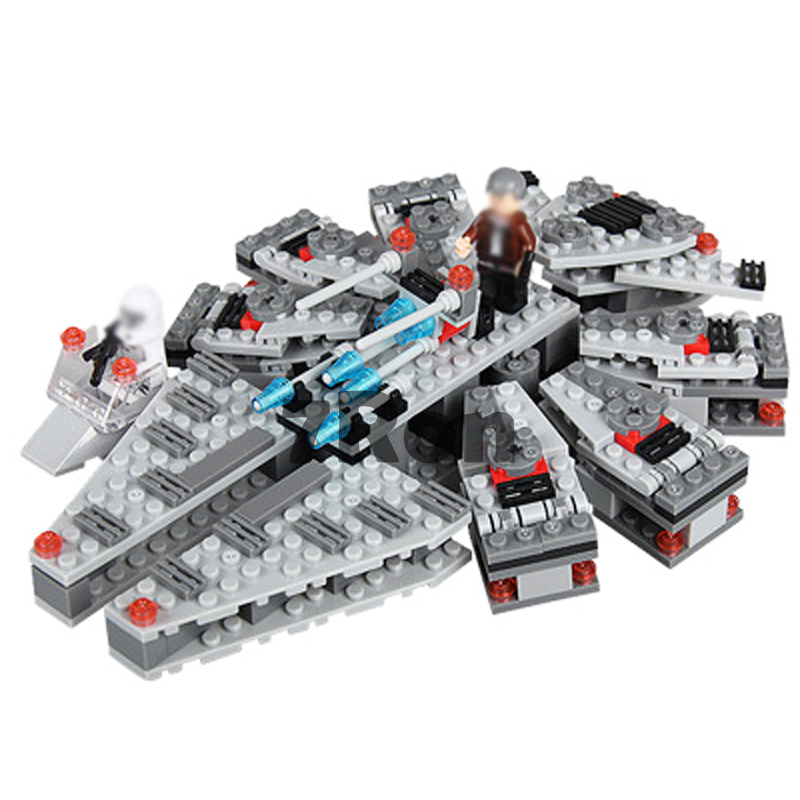 Compatible With Lego 75105 10179 Models Building Kits 88050 260pcs