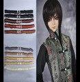 1 шт. 5*100 см Кукла короткий прямой DIY fringe волос/парики браун черный хаки цвет волос для 1/3 1/4 1/6 BJD SD кукла