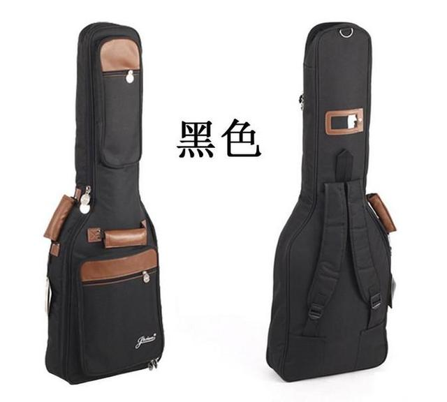 "Portable 41"" Waterproof guitar Gig Bag Carry Case  quality thickening bag ballads anti-rattle double sided acoustic guitar bag"