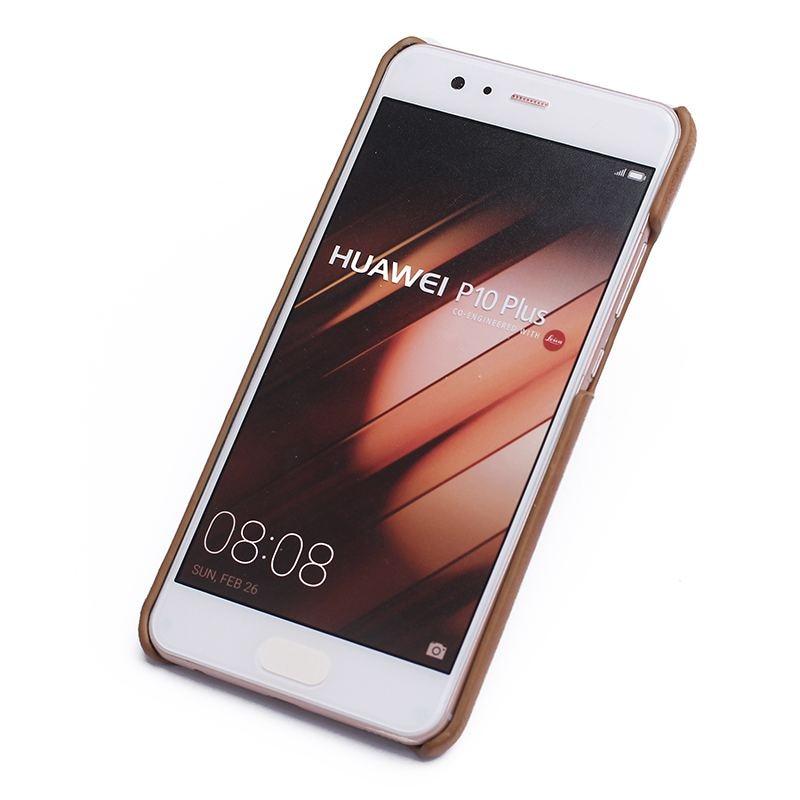 Äkta läderfodral till Huawei P10 Plus fodral Frostad bakomslagskydd - Reservdelar och tillbehör för mobiltelefoner - Foto 3