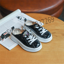 2019 Children kid Shoes Boys Girls autumn Spring Damping Casual Shoes Slip Patchwork Breathable PU leather shoes size 26-30 jad spo 108 bicycle breathable pu shoes silver size 42