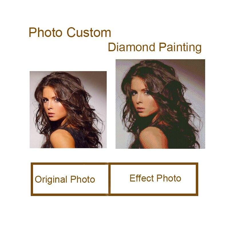 5D Diamond Painting Full Square Personalized Customize Daimond Painting Diamond Embroidery Rhinestone Needlework Cross Stitch