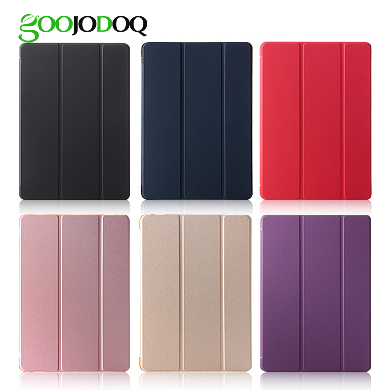 Tablets & E-book-hülle Für Ipad Pro 9,7 Fall Goojodoq Pu Leder Smart Cover Mit Transluzenten Pc Zurück Fall Für Apple Ipad Pro 9,7 Zoll Auto Wake/wake Hochglanzpoliert Tablet-zubehör