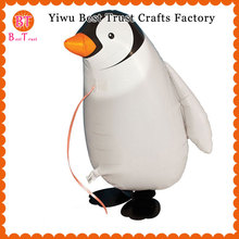 300 pcs/lot walking balloons Penguin Foil Ballons for birthday party decorations kids Helium Gift Globos walking Pet Balons цена и фото