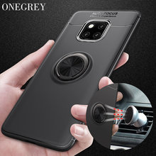 Case for Huawei P20 Mate 20 10 9 Pro P10 P9 P8 Lite Plus Car Holder Stand Magnetic Ring Cover Honor 10 8x Max 8c Note Nova 3 3i(China)