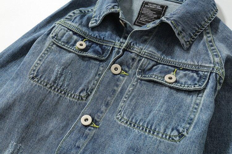 Mode Hiver Hommes De Marque 2018 Spéciale Jean Mâle Offre Automne Datousha En Impression Bleu Veste Nouvelle RzIBq4
