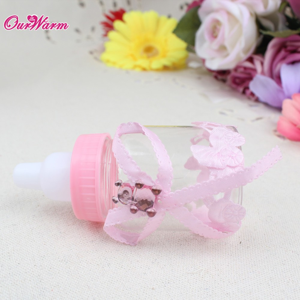 Baby Bottle Candy Box Party Supplies Baby Feeding Bottle Wedding ...