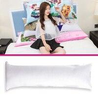 Sofa Cushion Pillow Pillow Throw Pillows 150*50cm Plush White Decor Home Living Ordinary Gifts Waist Creative Design Office