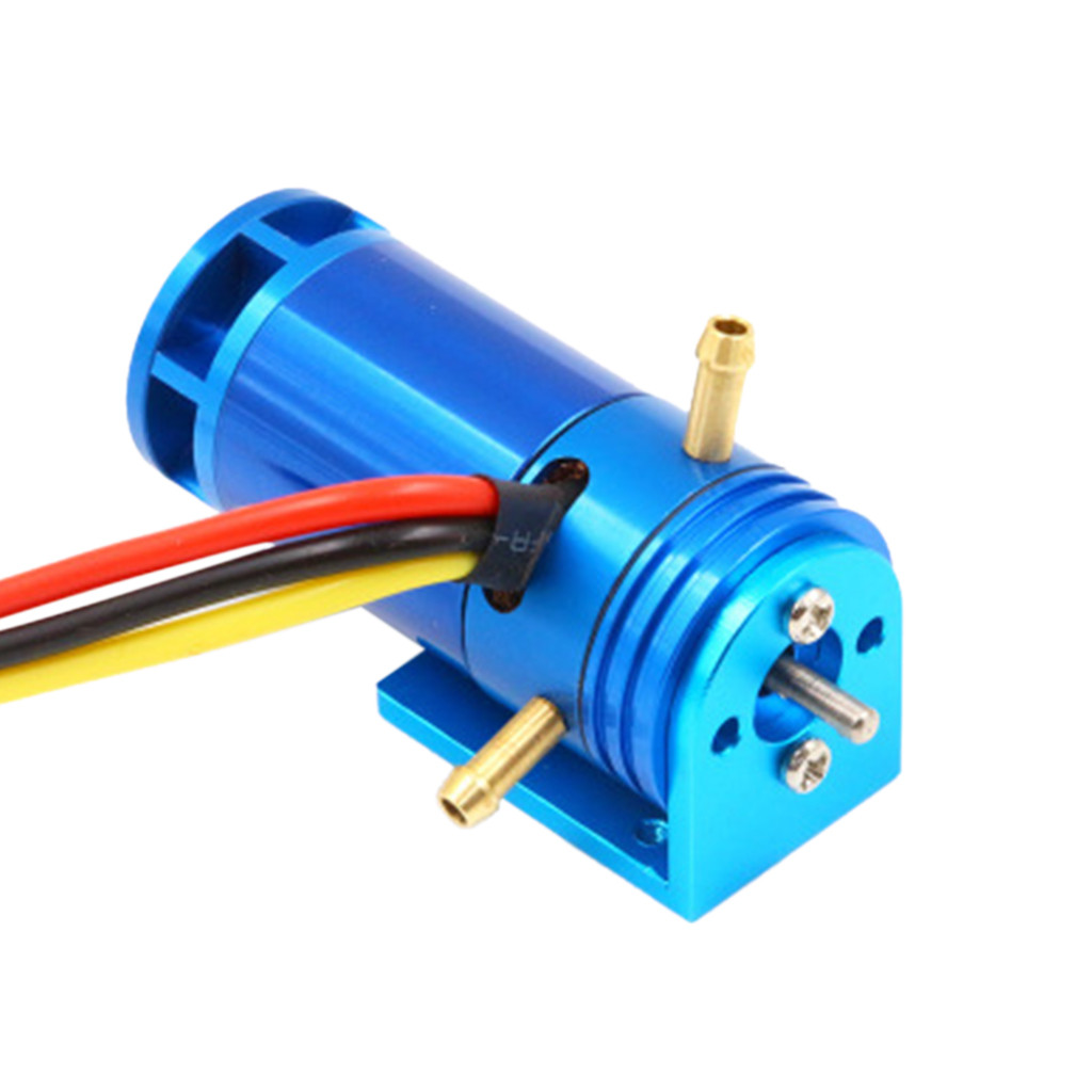 Image 5 - 2 4S 2862 2800KV Water Cooled Brushless Outrunner Motor+50A ESC For RC Boat practical and convenient Remote control toy parts-in Parts & Accessories from Toys & Hobbies