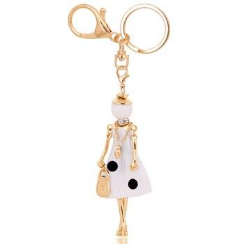 chenlege wholesale fashion bag keyrings charms ladies keychains 1