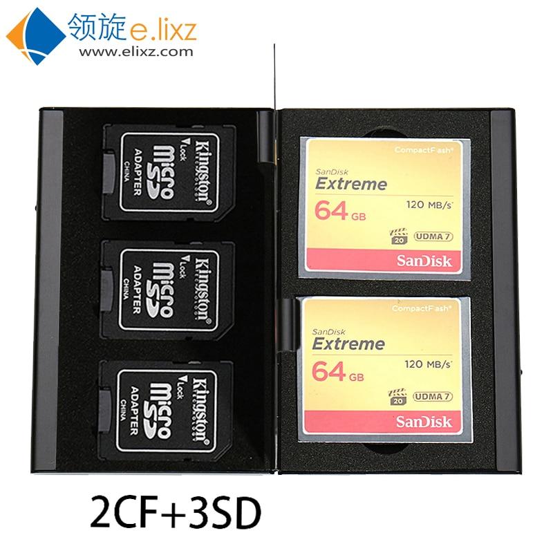 Titular de la tarjeta de memoria Rojo Micro estuche protector duro de almacenamiento portátil Wn