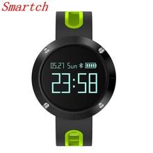 Smartch DM58 smart Сердечного ритма Приборы для измерения артериального давления браслет IP68 Водонепроницаемый Фитнес Tracker спортивные часы smartband для iOS Androi