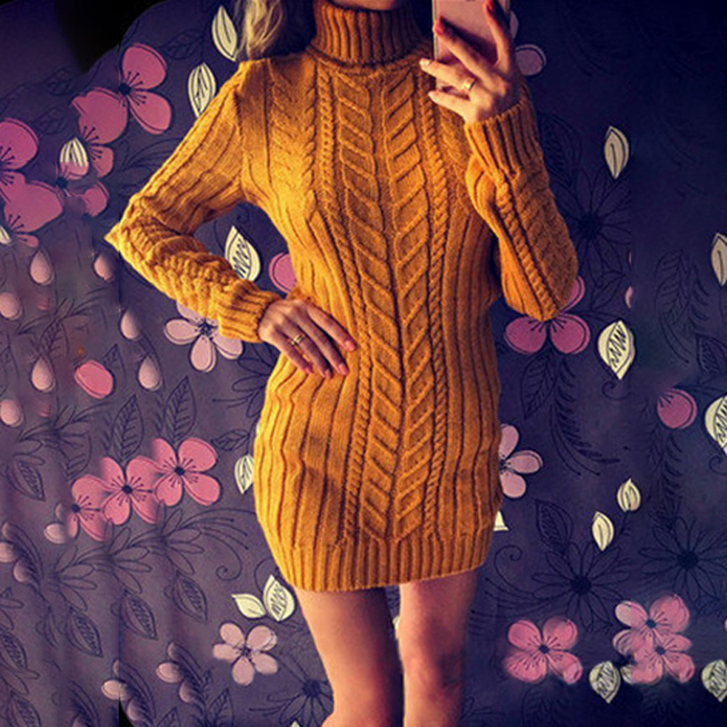 Party Slim Fit Sweater Dress