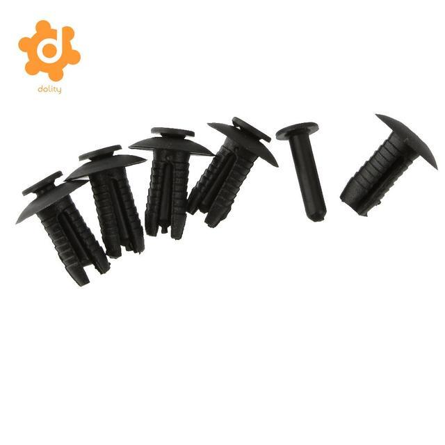 30 Pieces Plastic Bumper Mounting Rivet Body Trim Clip For BMW E30 E36 E46 E39 E38 Z1
