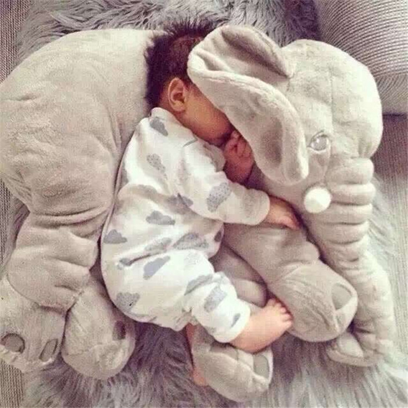 elephant soft appease baby pillow baby calm doll baby toys baby sleep bed car seat cushion
