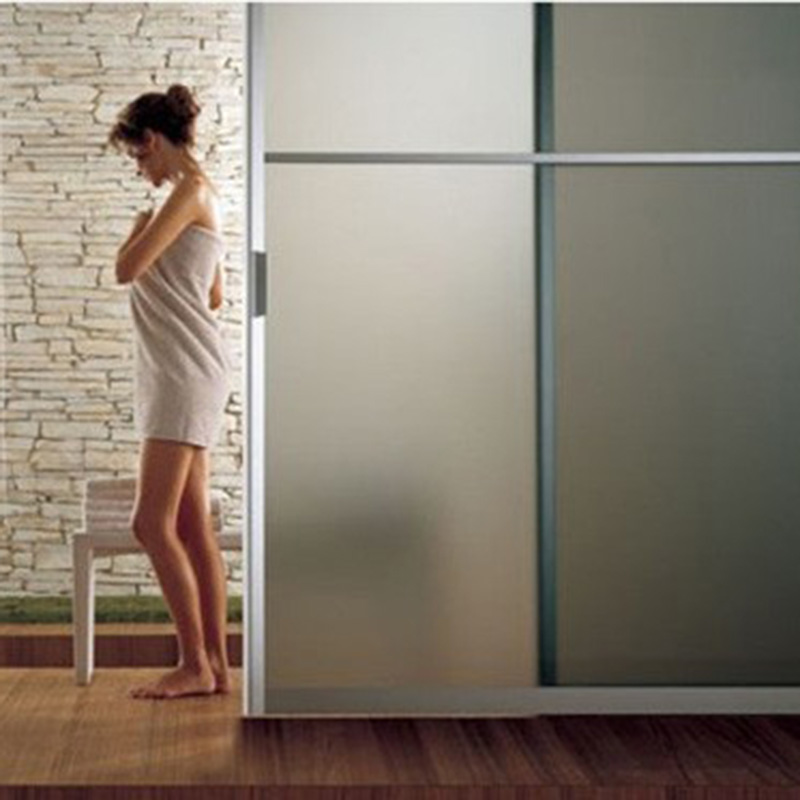 Translucent Bathroom Windows: PVC Frosted Window Film Frosted Bathroom Window Stickers
