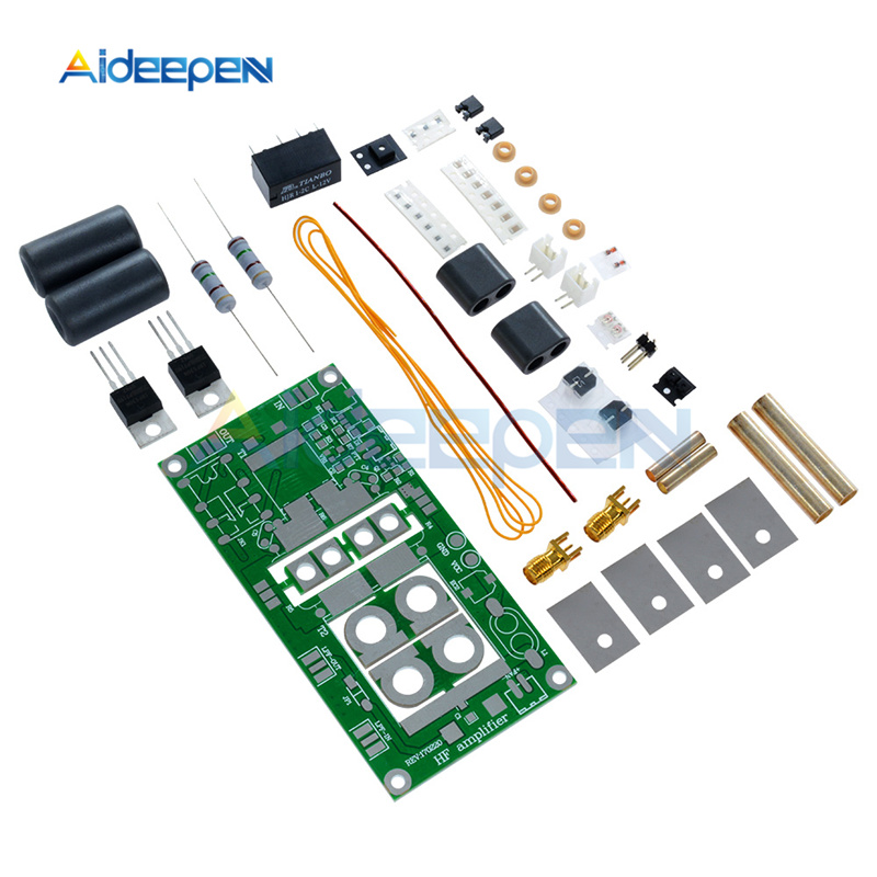US $13 94 18% OFF|5W 70W SSB Linear HF Power Amplifier Module 10A 13 8V AM  CW FM Low Power Radio Power Connect Board DIY Kits Prohibit Open Short-in