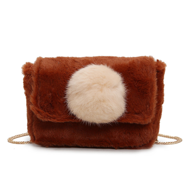 Women Small desigual bag Autumn Winter Faux Fur Cross Body Bag for Teenage  Girls Shoulder Bags Ladies small Handbags Bag-in Shoulder Bags from Luggage  ... ccaa337df0e3f